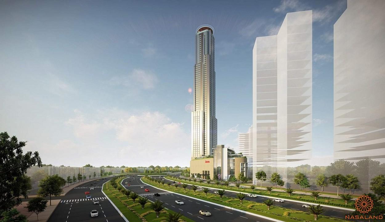 Khách sạn cao cấp Park Hyatt 68 tầng nằm trong dự án Eco Green Sài Gòn quận 7