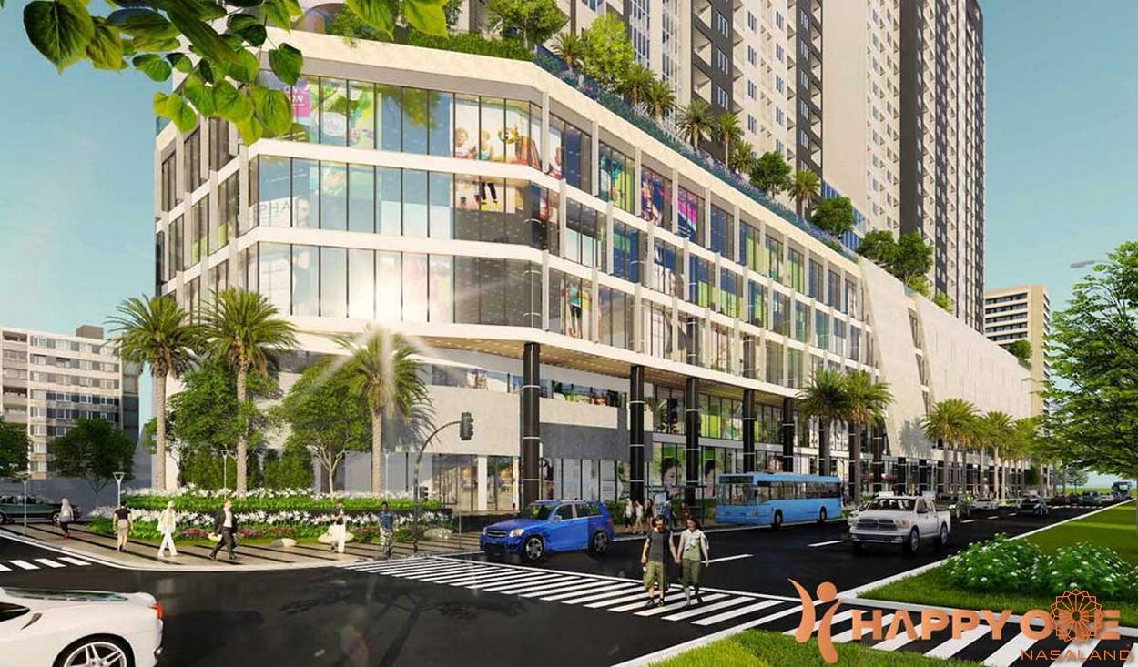 Tiện ích nội khu dự án Happy One Premier - trung tâm mua sắm
