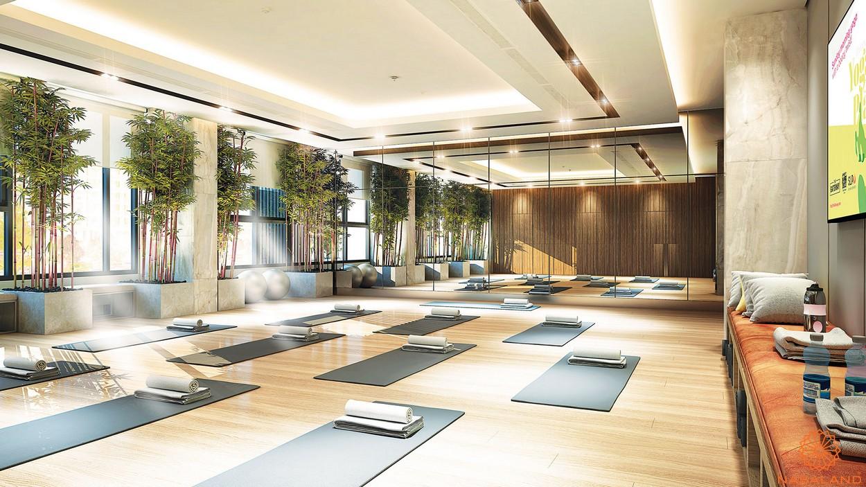 Tiện ích phòng Yoga thuộc The Symphony Phú Mỹ Hưng quận 7