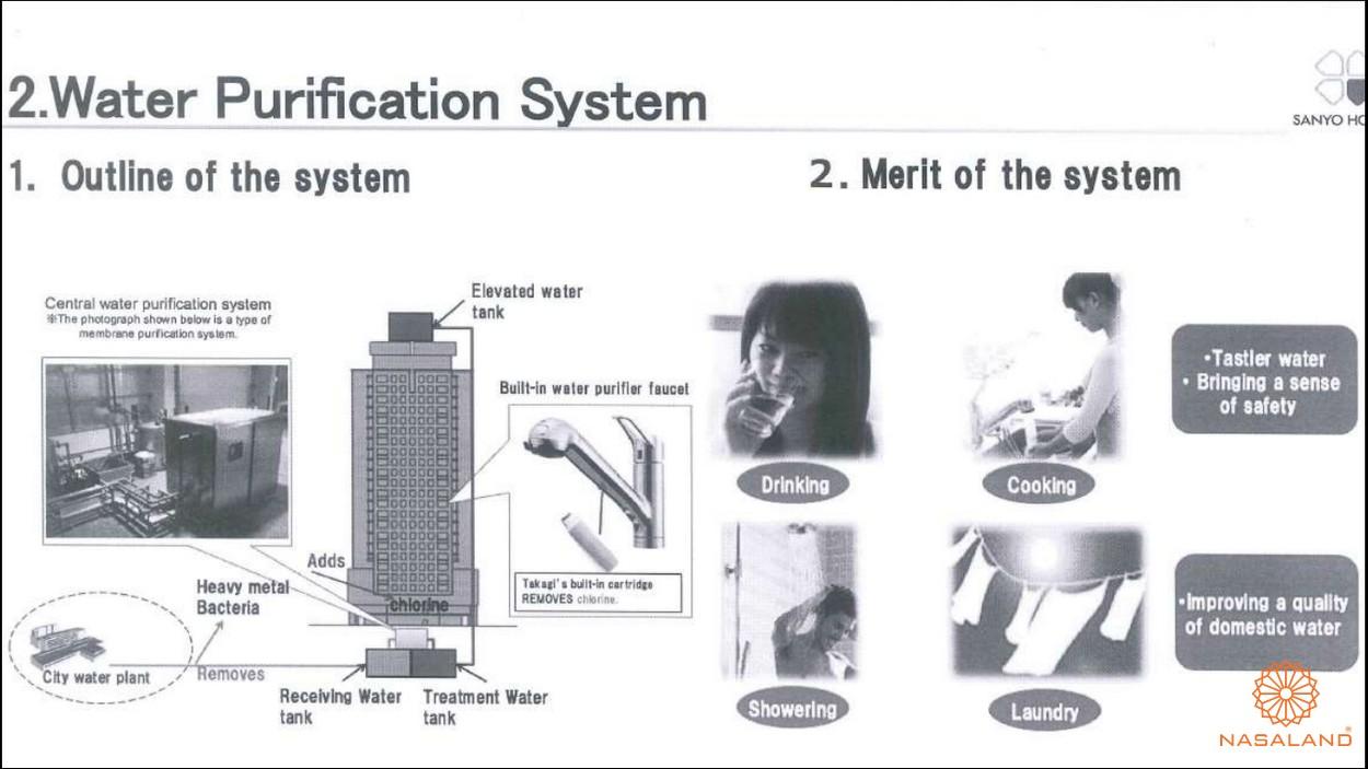 Tiện ích dự án - máy lọc nước