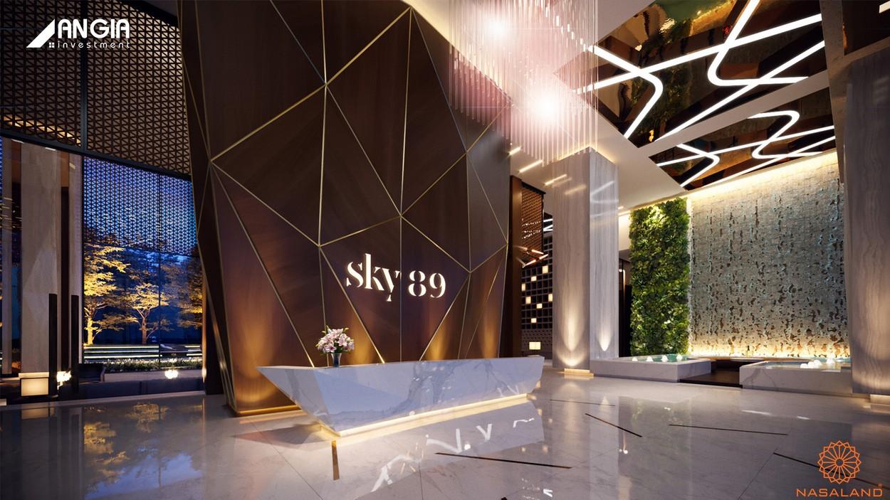 Tiện ích căn hộ Sky 89 quận 7 - Sảnh đón sang trọng
