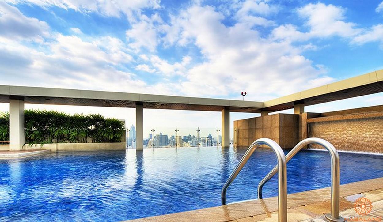 Tiện ích hồ bơi dự án căn hộ The Tresor Novaland