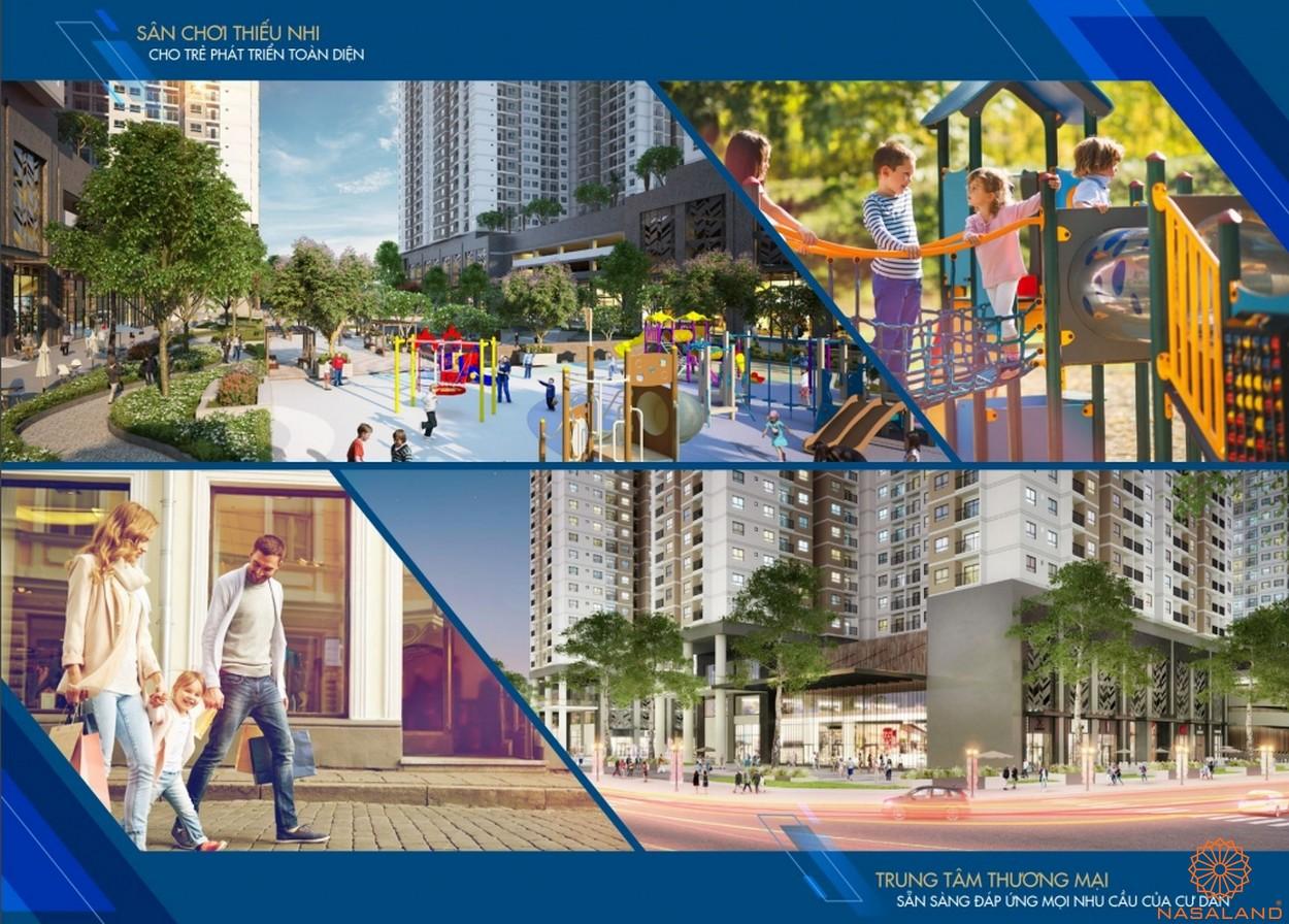Tiện ích nội khu dự án căn hộ Q7 Saigon Riverside Complex quận 7