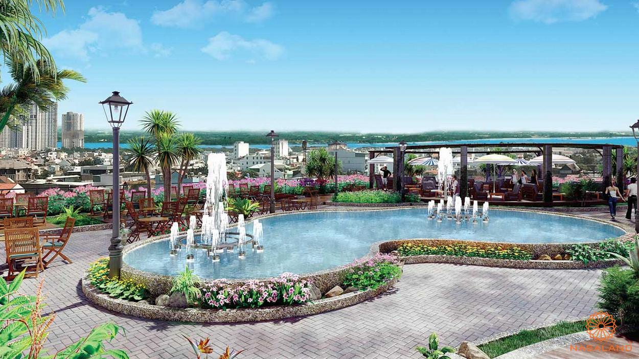 Tiện ích hồ bơi nội khu dự án Viva Plaza