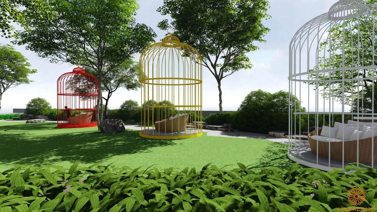 Công viên dự án căn hộ River Panorama quận 7