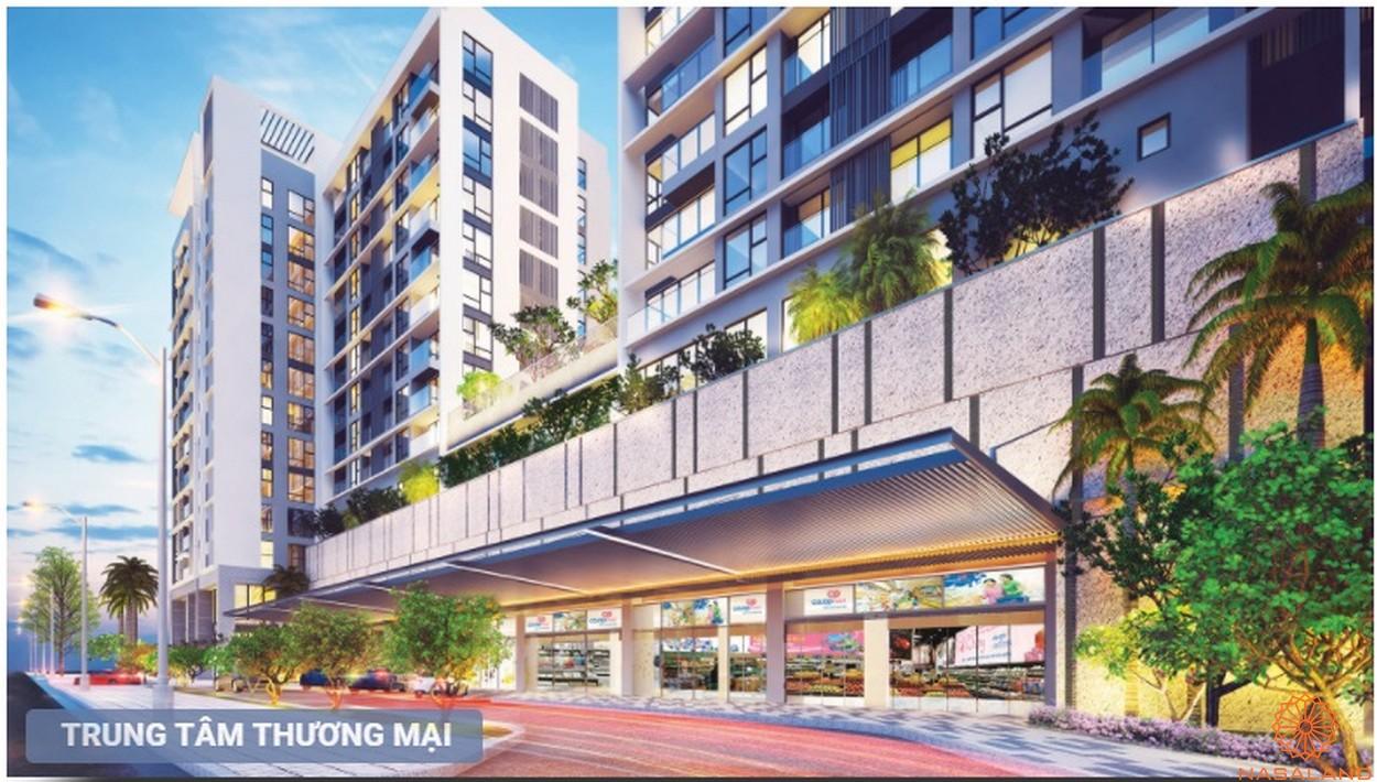 Trung tâm thương mại dự án căn hộ Urban Hill quận 7