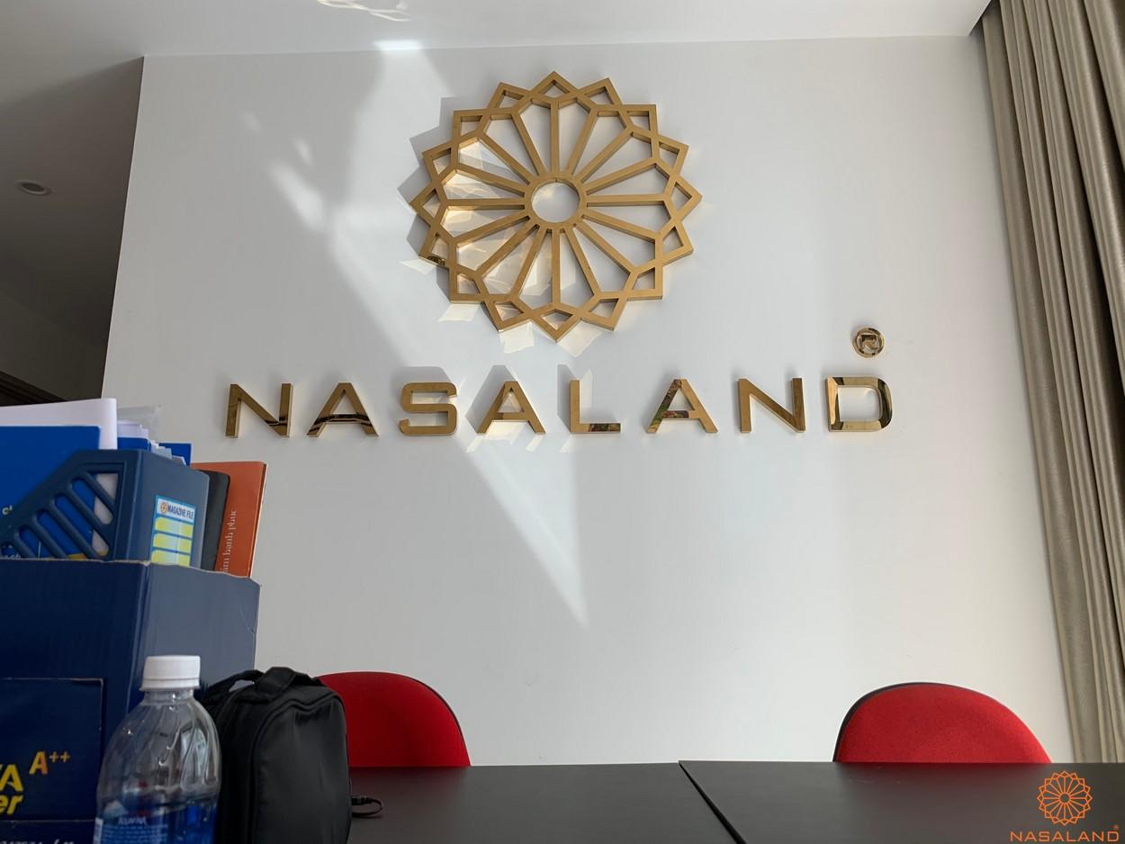 Logo Nasaland khai trương tại văn phòng