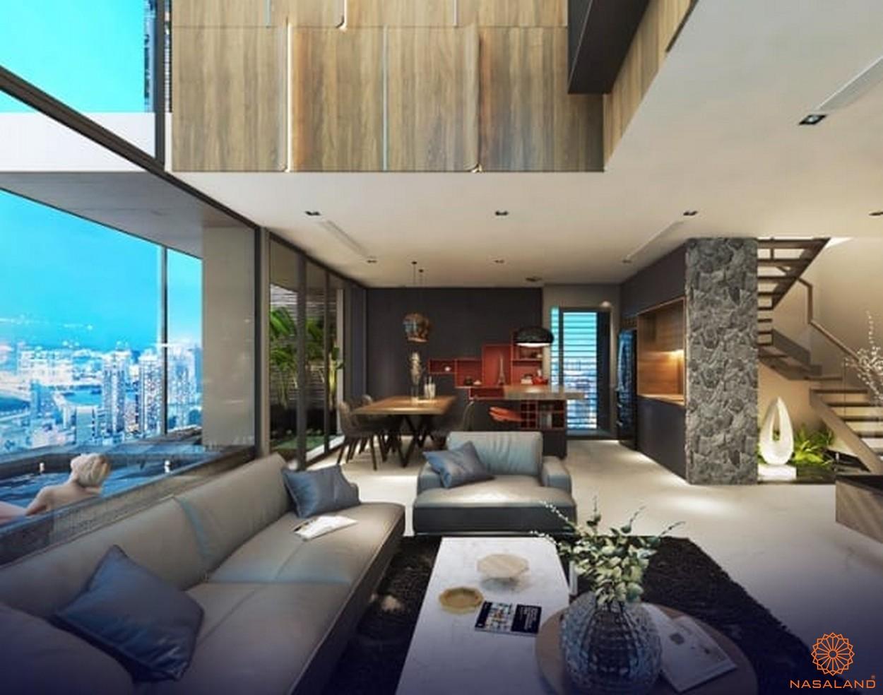Hình ảnh nhà mẫu dự án một căn hộ nơi đây