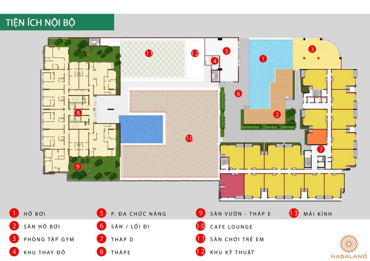 Tiện ích nội khu dự án căn hộ Cộng Hòa Garden