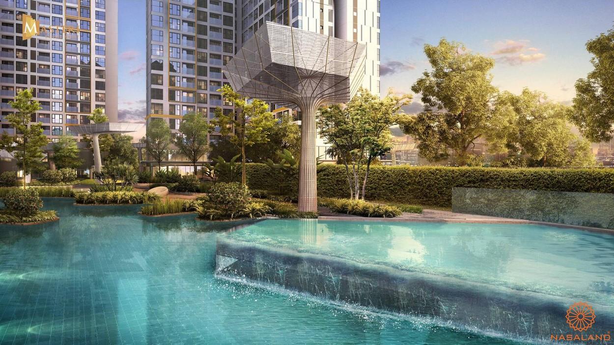 Căn hộ chung cư Masteri Centre Point quận 9 - Hồ bơi diện tích rộng