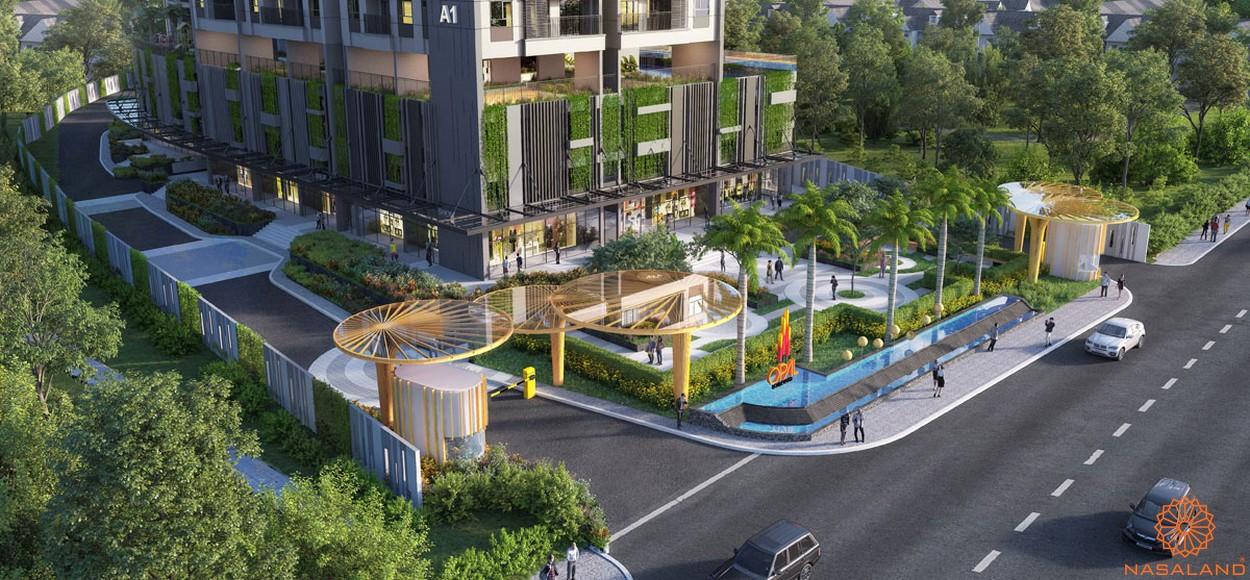 Tiện ích dự án căn hộ Opal Avenue Bình Dương - công viên nội khu