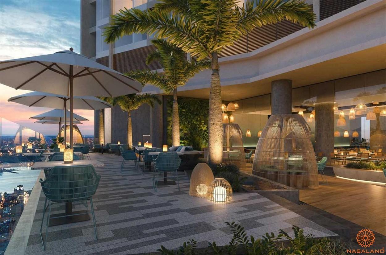 Tiện ích dự án căn hộ The Emerald Golf View Bình Dương - Nhà hàng cafe
