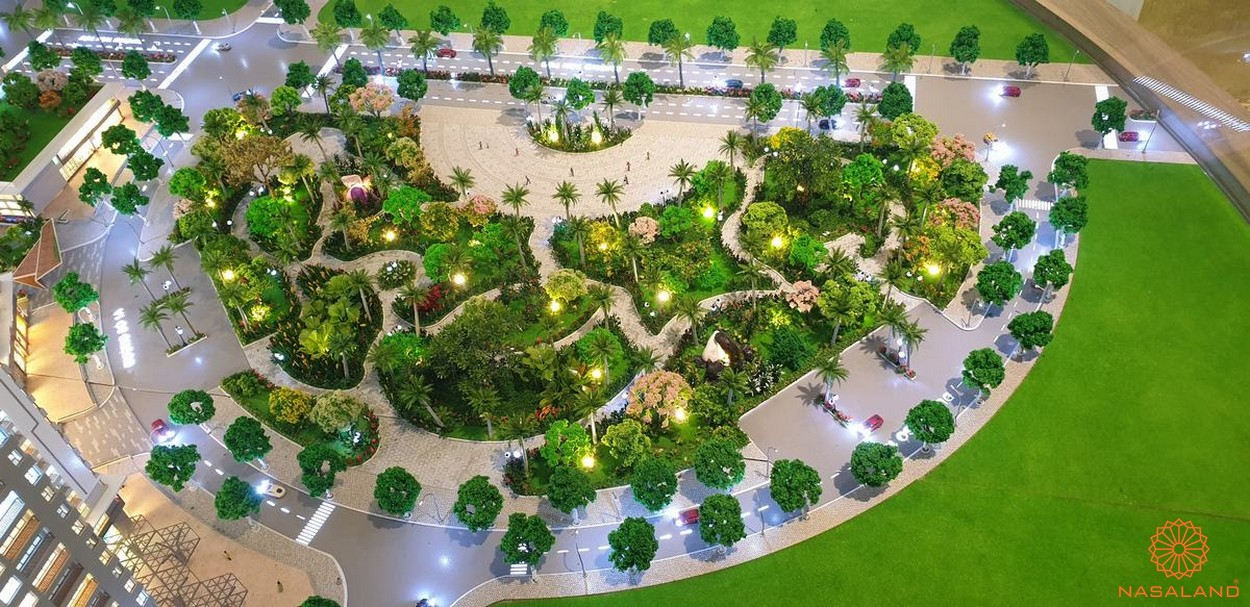 Sa bàn tiện ích xanh của dự án West Gate Bình Chánh