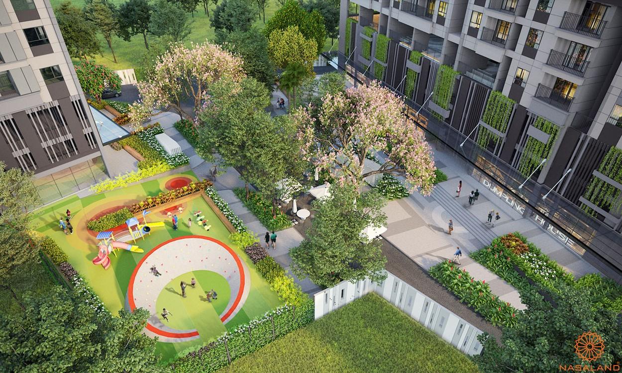 Tiện ích dự án căn hộ Opal Avenue Bình Dương - khu vui chơi