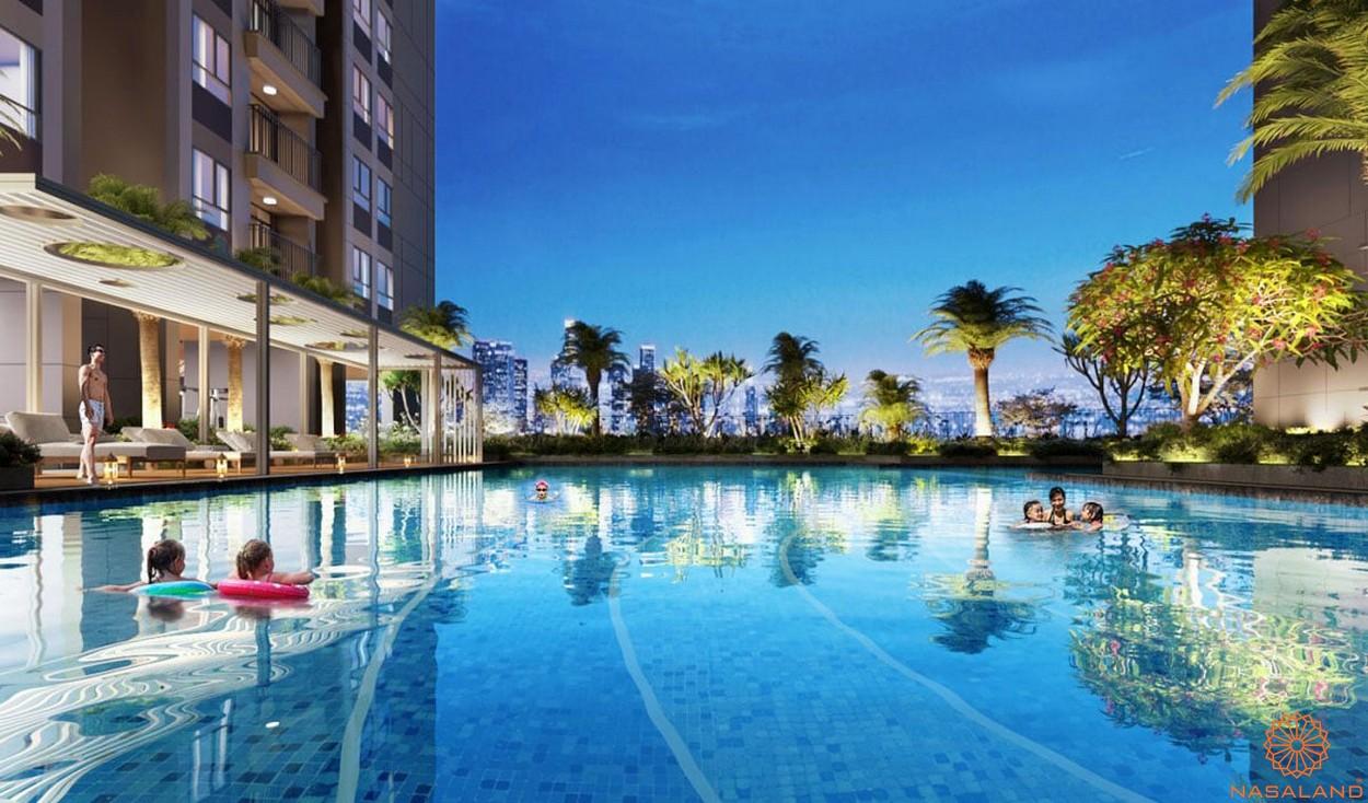 Tiện ích dự án căn hộ Opal Avenue Bình Dương - hồ bơi trẻ em