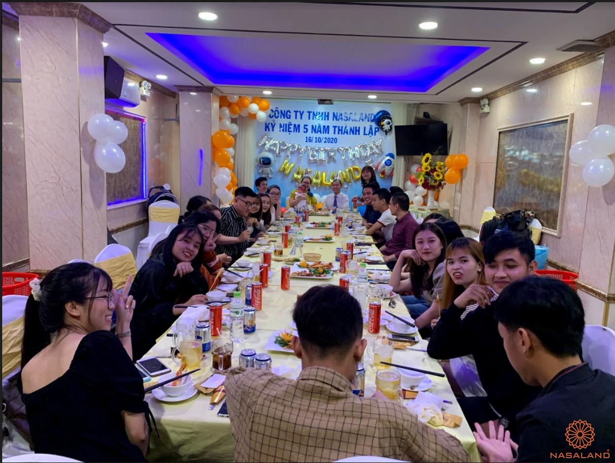 Tiệc mừng kỷ niệm 5 năm thành lập công ty TNHH Nasaland