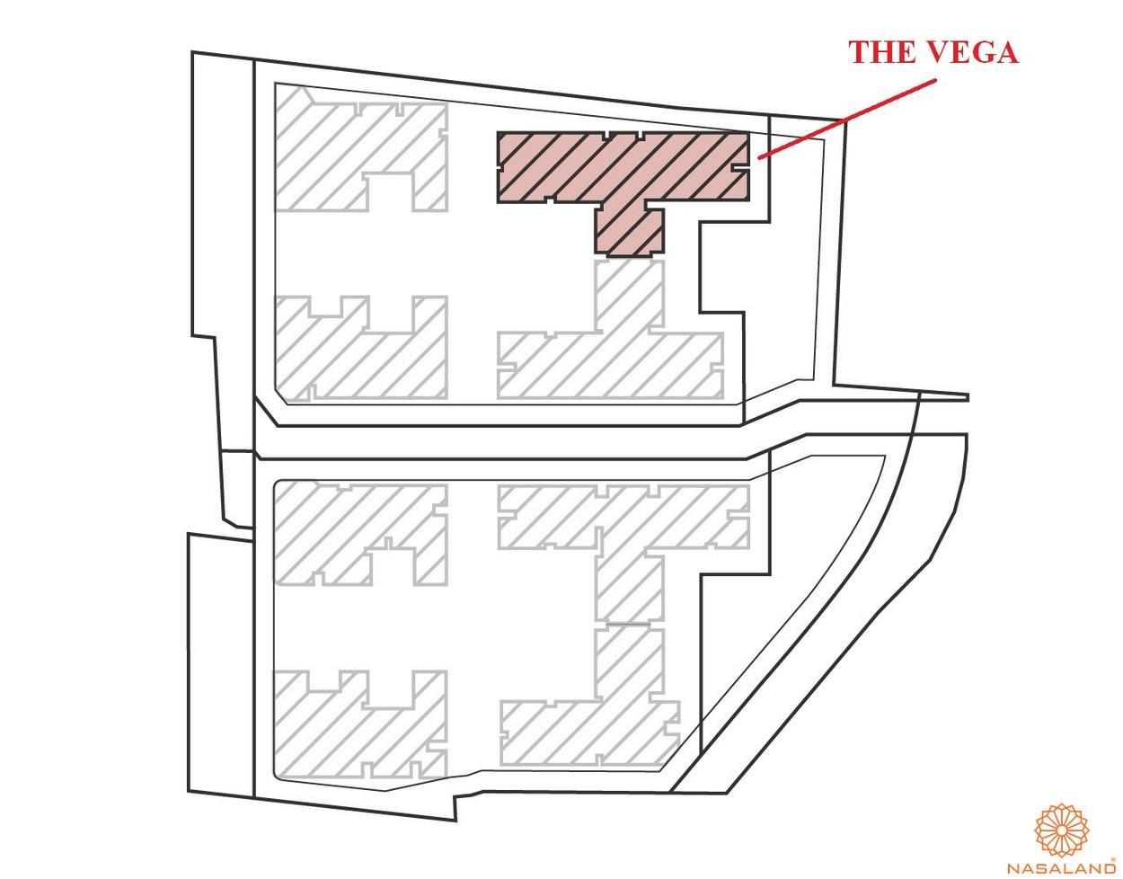Mặt bằng dự án căn hộ Astral City bình Dương tổng thể