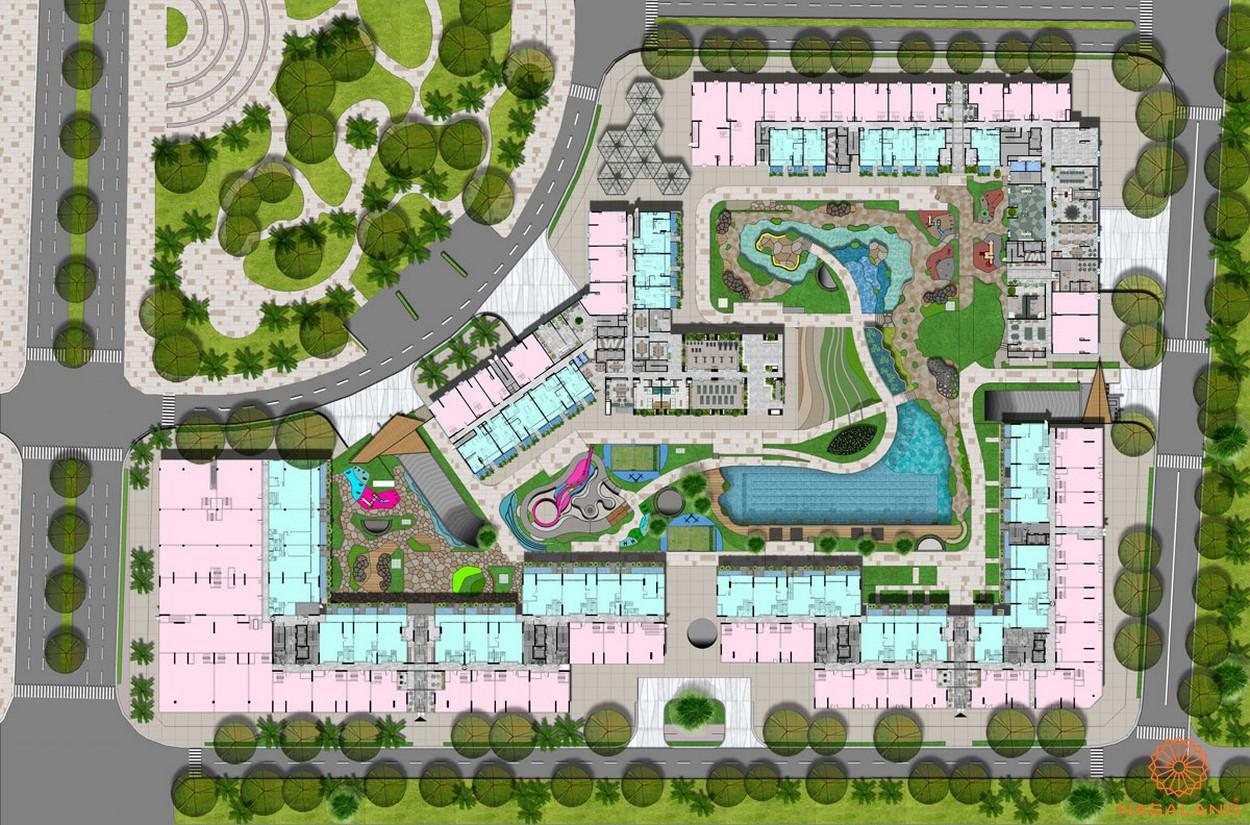 Mặt bằng tổng thể dự án căn hộ West Gate Bình Chánh