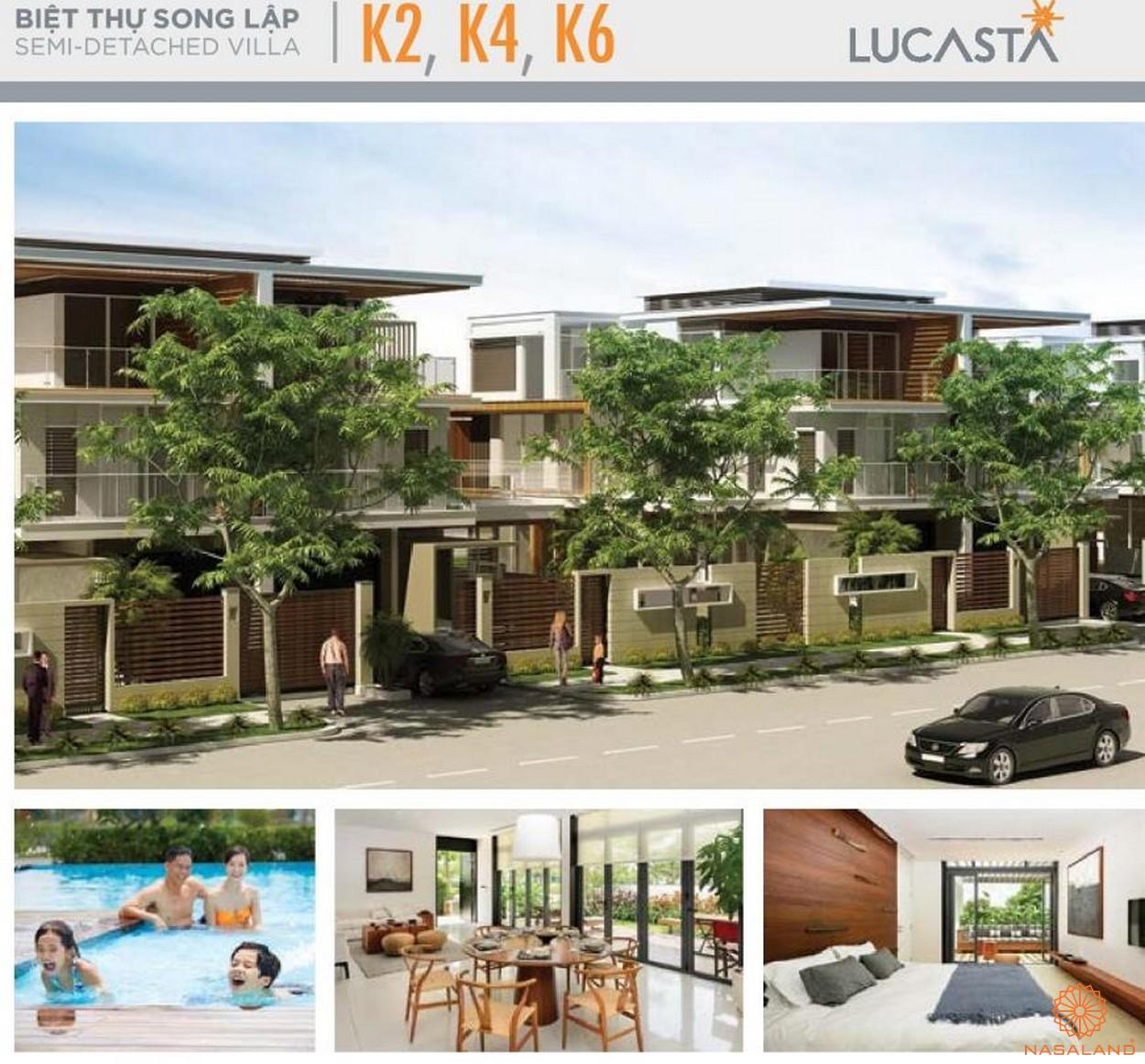 Hình ảnh nhà mẫu biệt thự K2-4-6 tại dự án biêt thự Lucasta quận 9