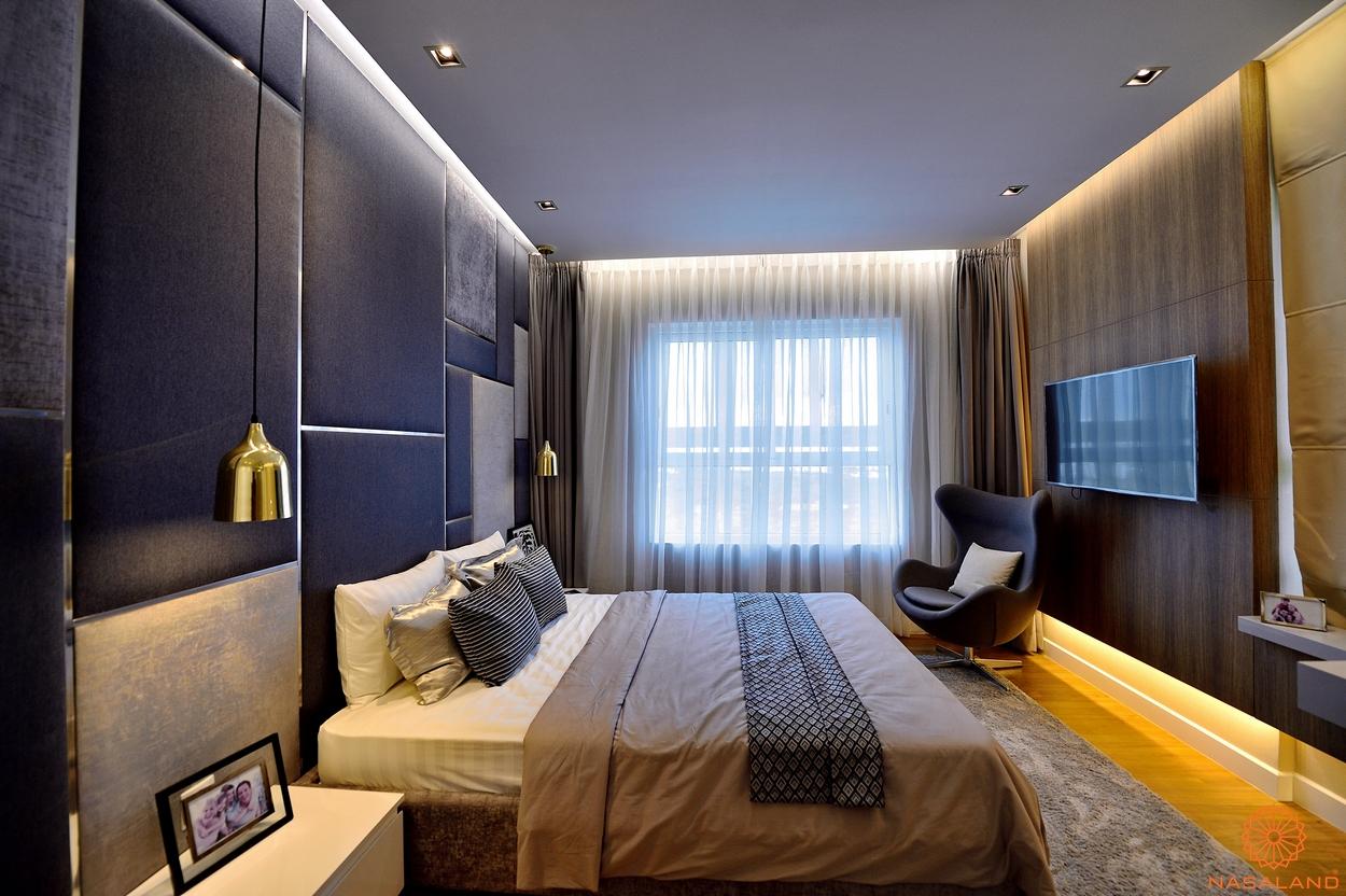 Hình ảnh nhà mẫu phòng ngủ tại căn hộ Dragon Hill
