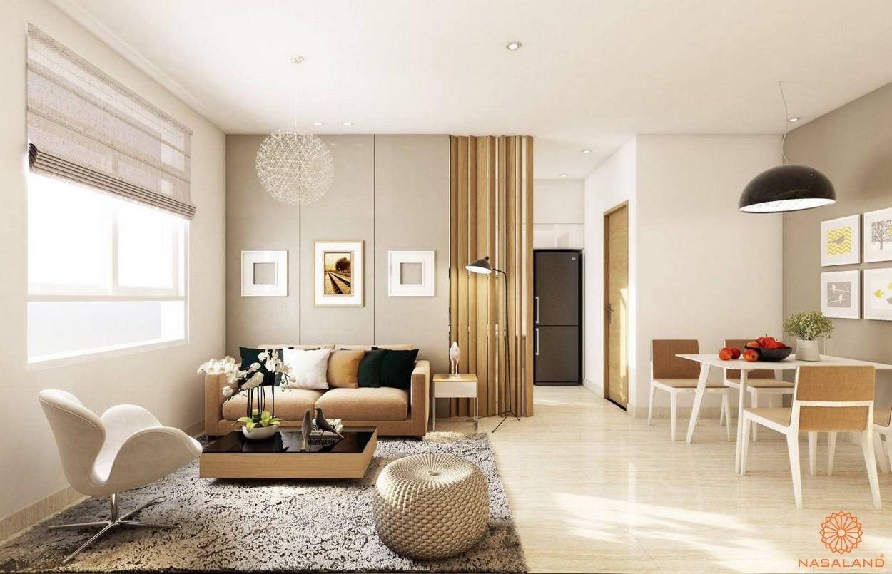 Nội thất bàn giao căn hộ tại dự án
