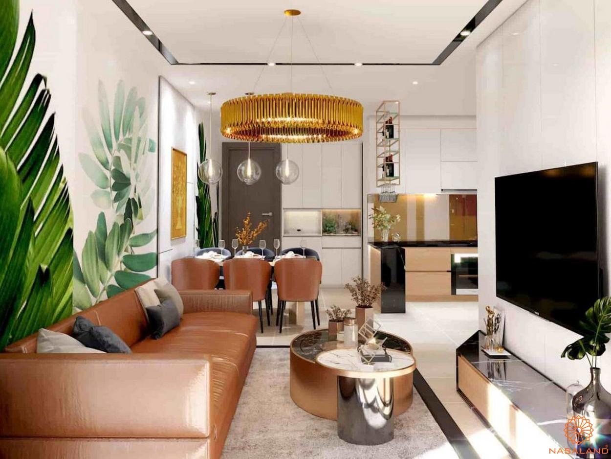Nhà mẫu dự án căn hộ chung cư Minh Quốc Plaza Bình Dương