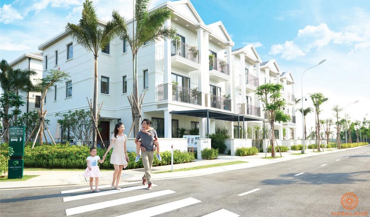 Nhà mẫu dự án Nine South Estates