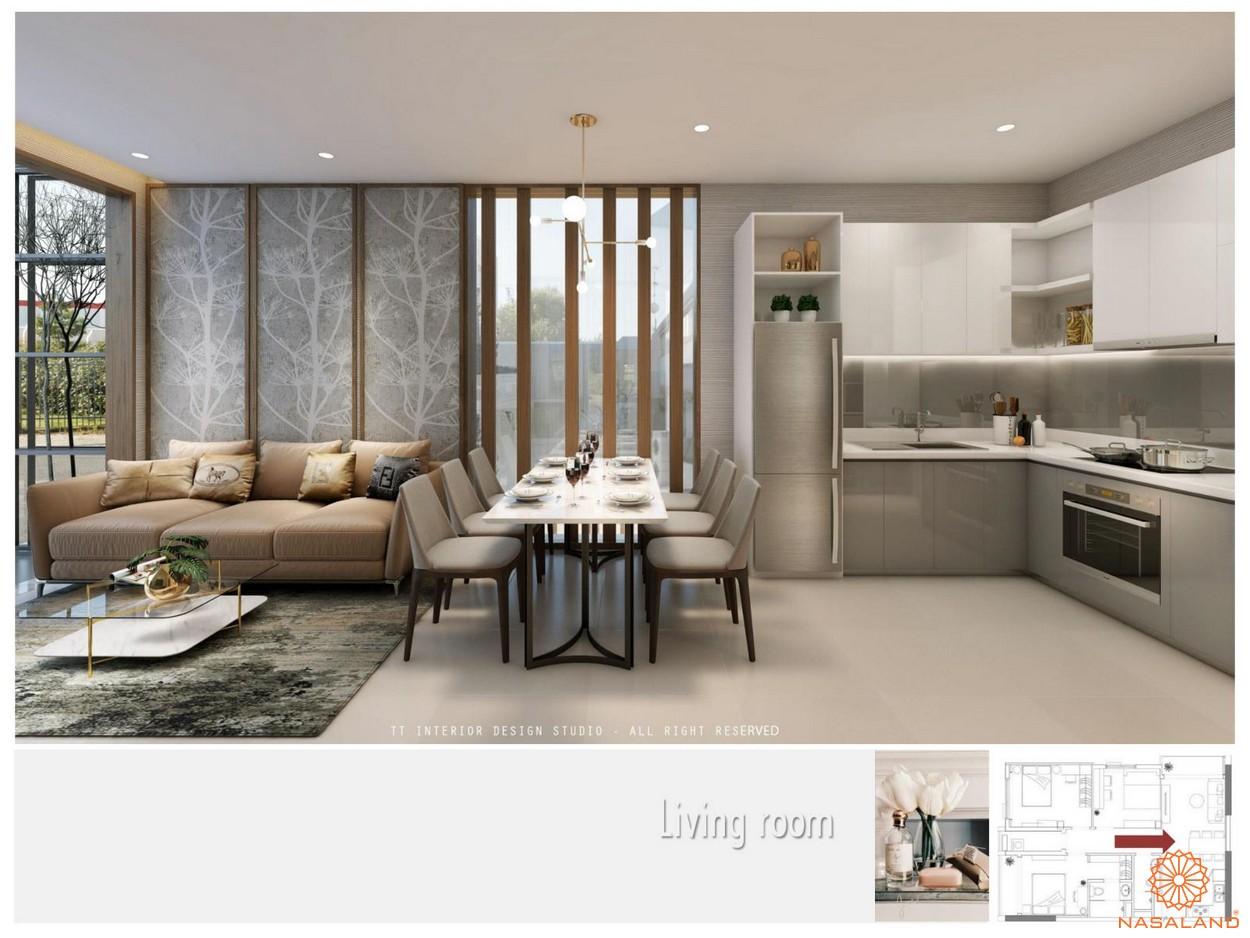 Nhà mẫu dự án căn hộ The Pegasuite quận 8