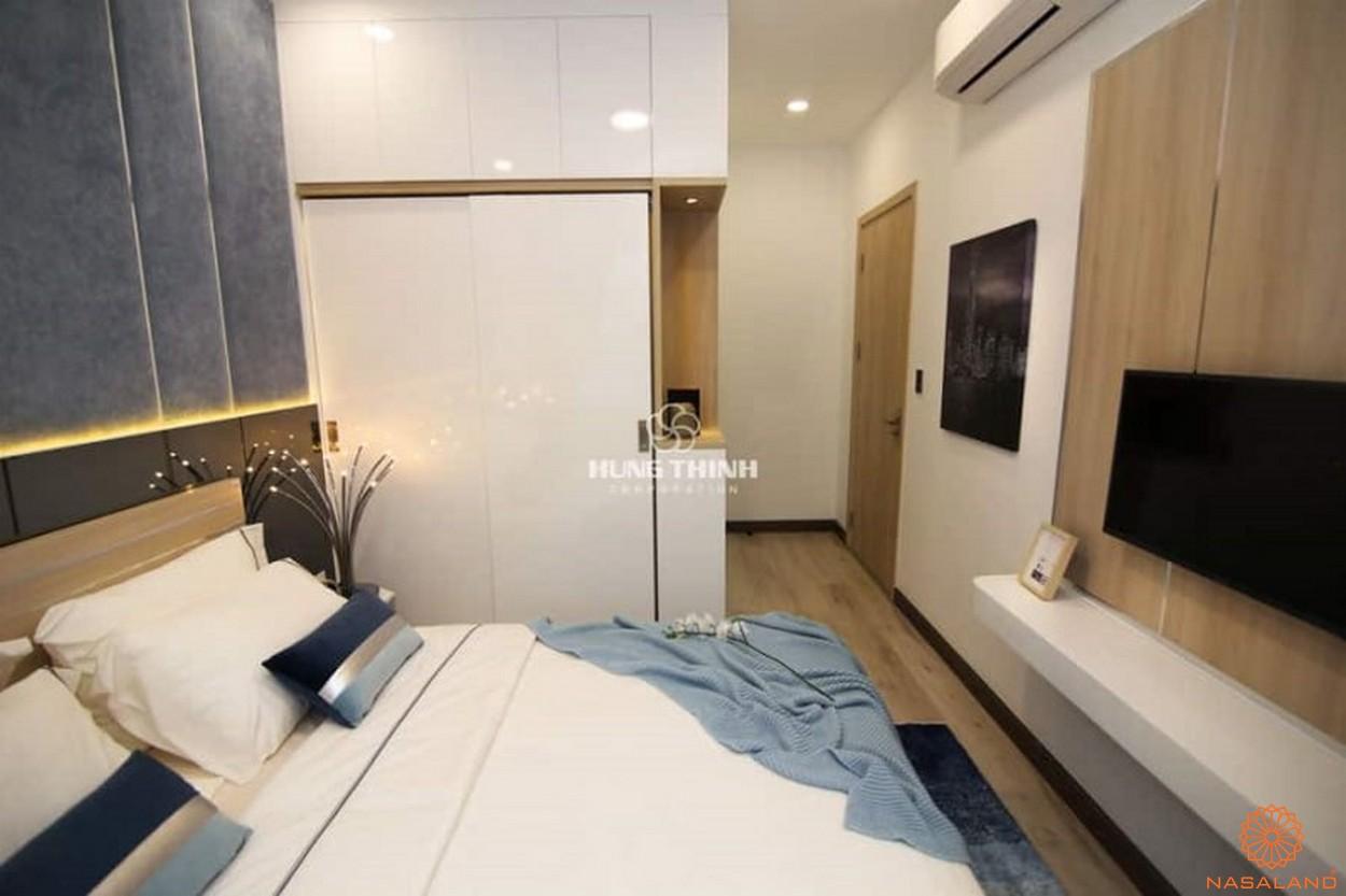 Nhà mẫu dự án căn hộ Universe Complex Bình Tân - Phòng ngủ