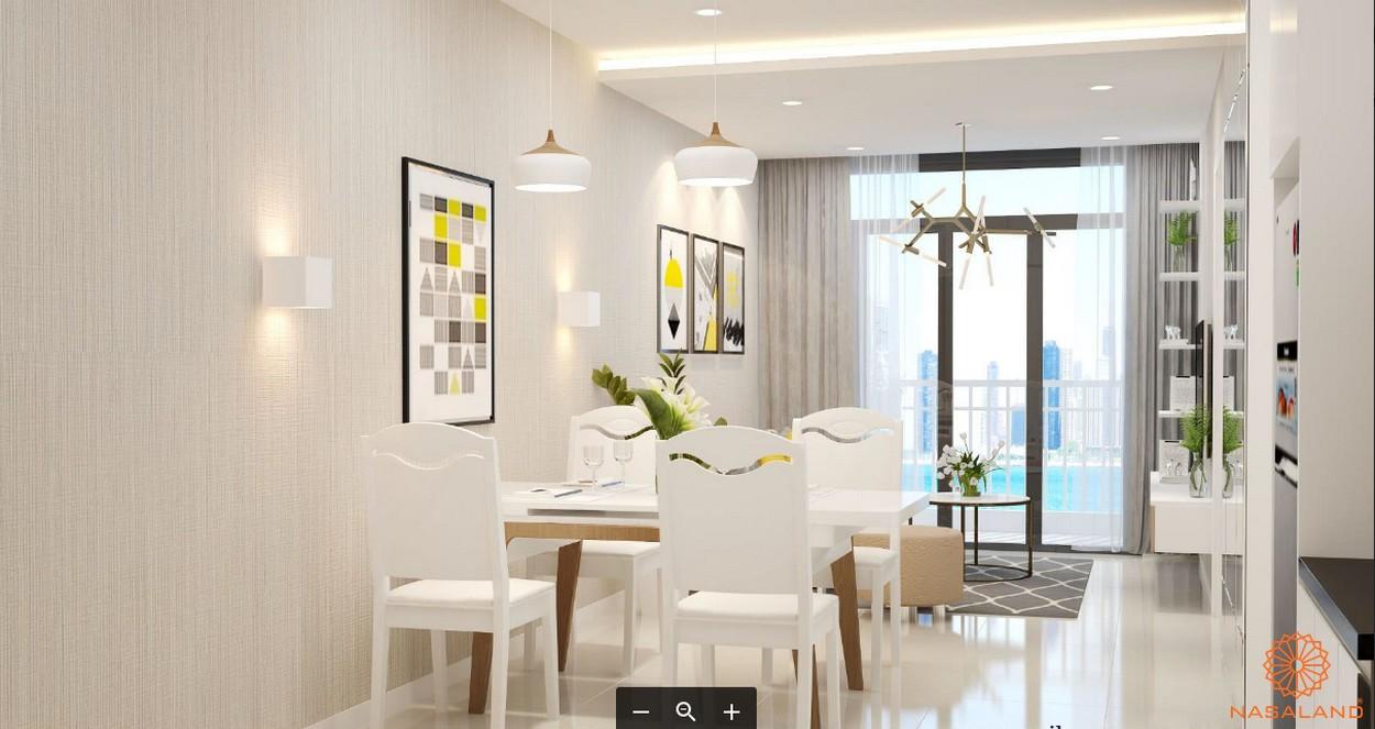 Nhà mẫu dự án căn hộ West Intela