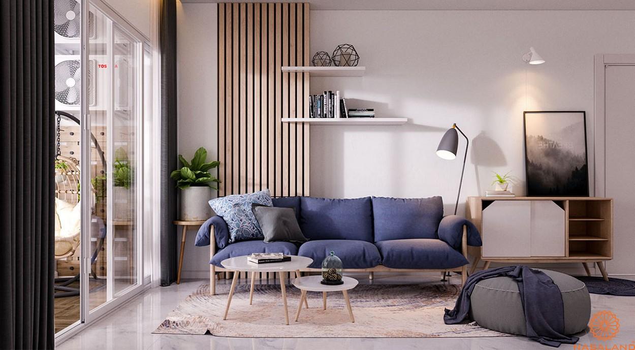 Nhà mẫu dự án căn hộ Charm City