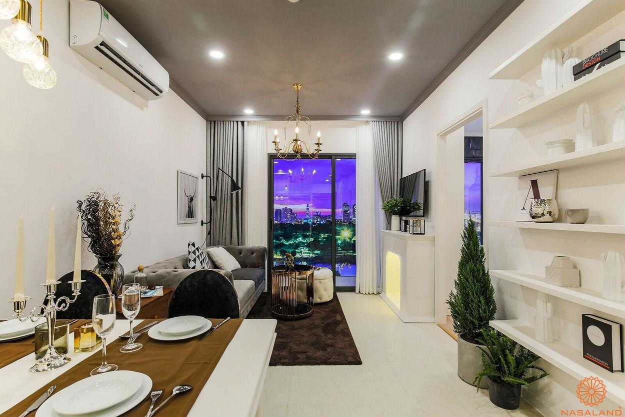 Nhà mẫu phòng khách dự án căn hộ South Gate Tower quận 7