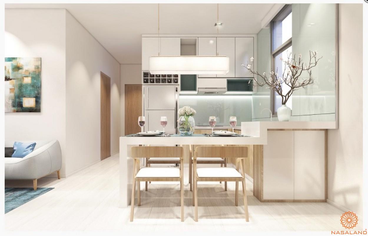 Nhà mẫu căn hộ chung cư Central Premium phòng bếp