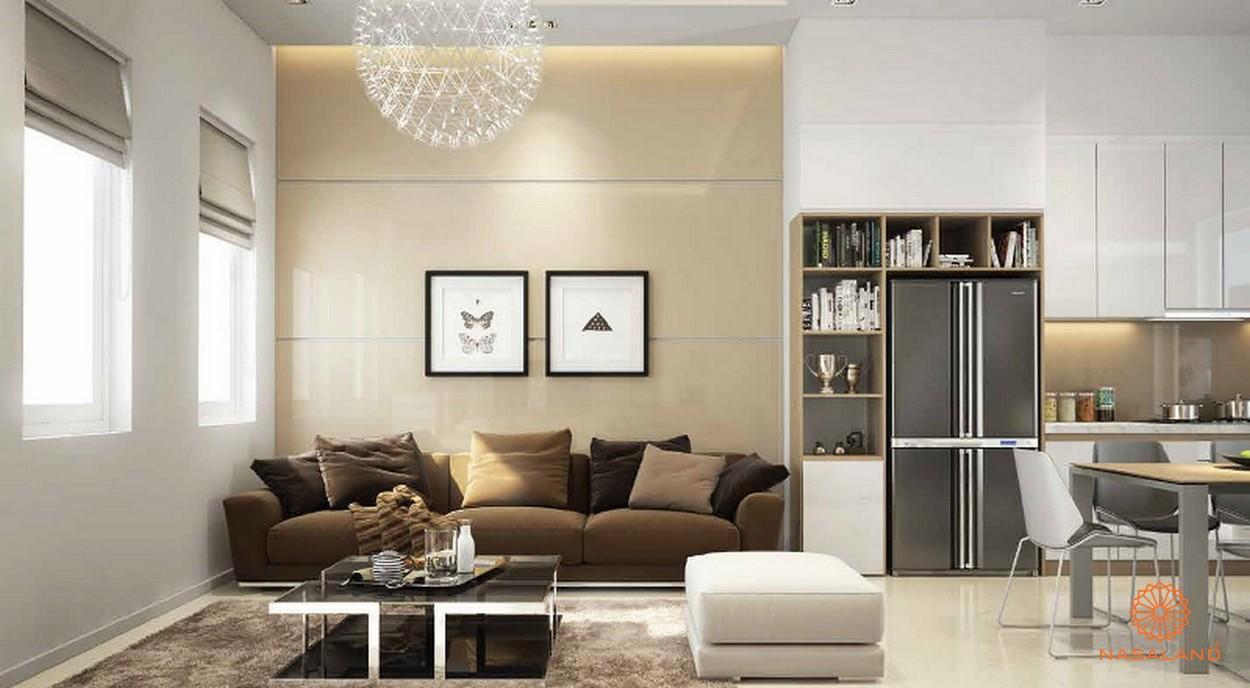 Phòng khách tại nhà mẫu