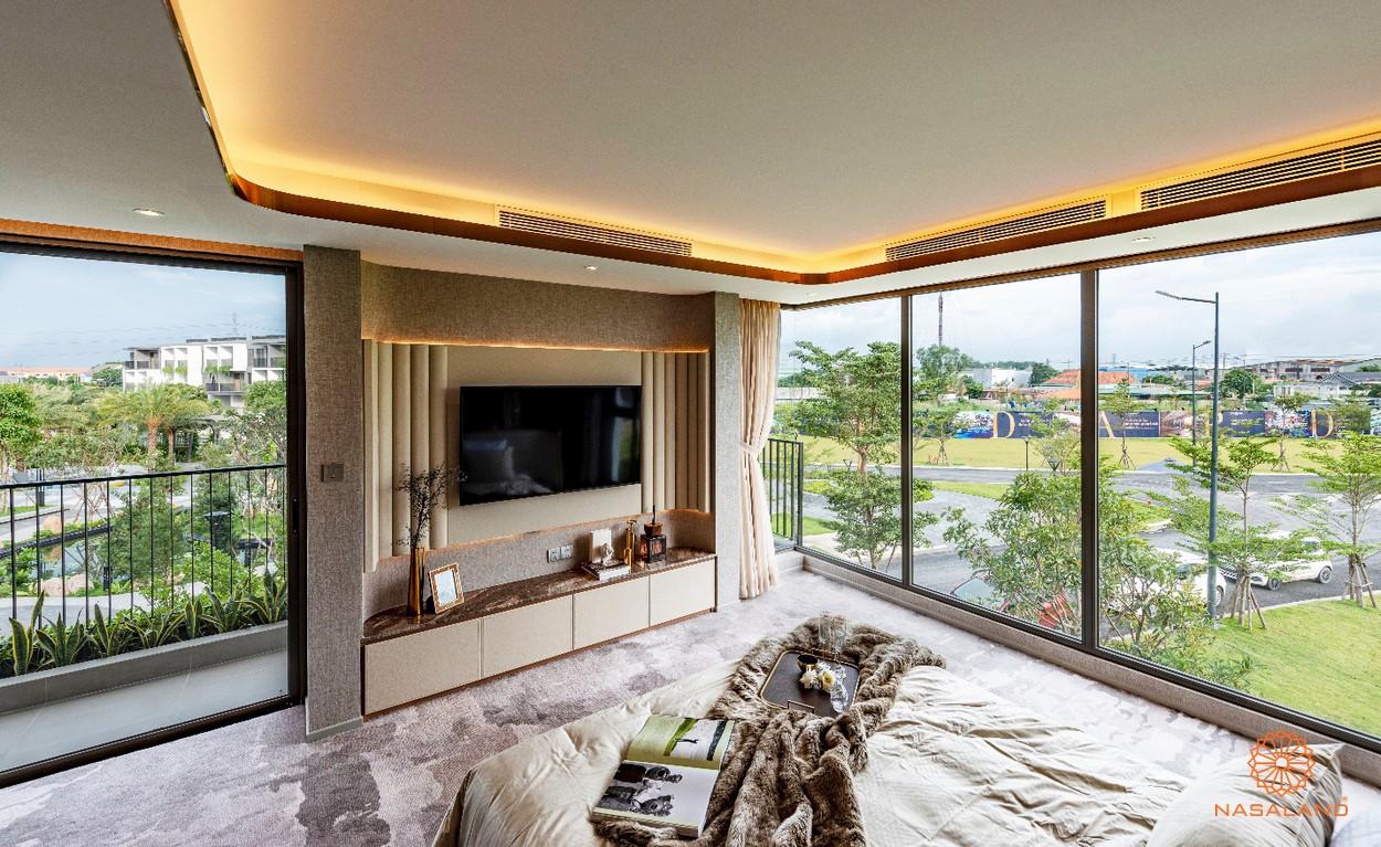 Nhà mẫu và view tại một phòng ngủ The Standard