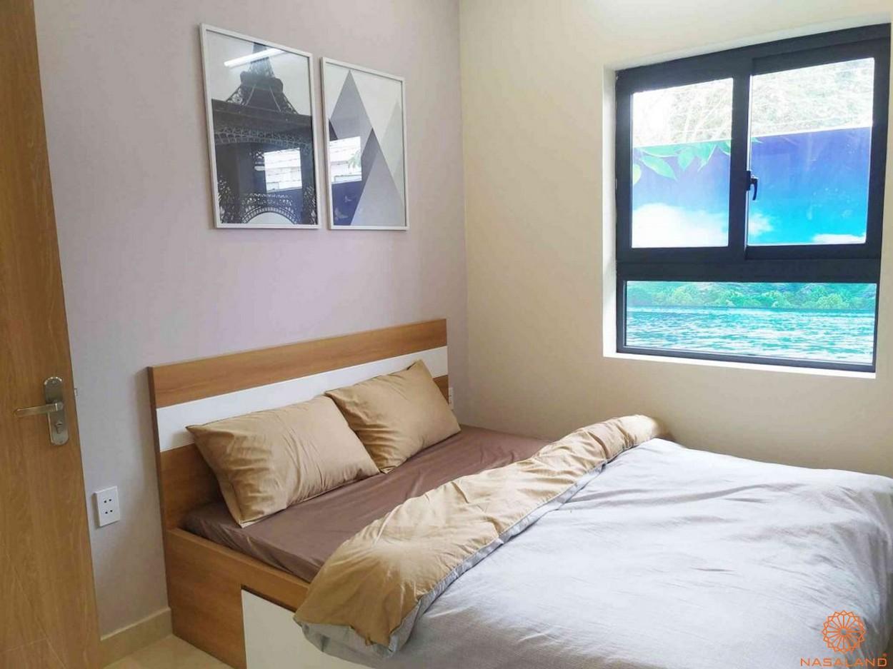 Nhà mẫu căn hộ Tecco Homes Bình Dương phòng ngủ