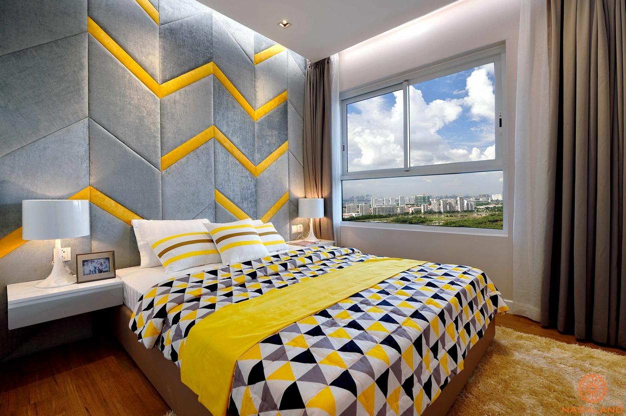 Nội thất phòng ngủ căn hộ chung cư Dragon Hill