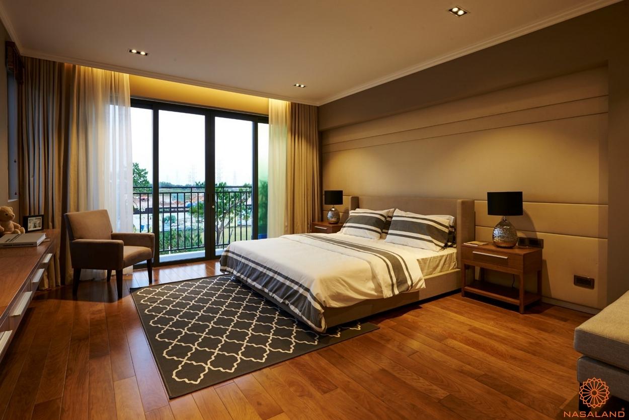 nội thất phòng ngủ Nine South Estates Nhà Bè