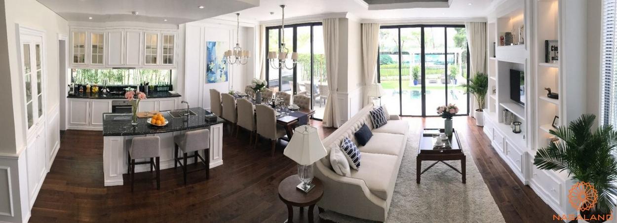 nội thất tại dự án Nine South Estates Nhà Bè