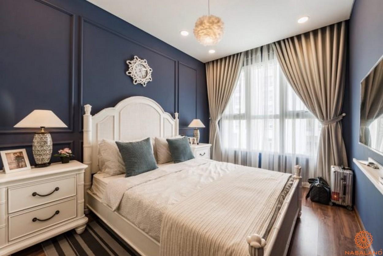 Nội thất phòng ngủ dự án căn hộ The Golden Star quận 7
