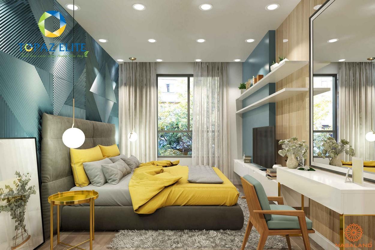 Nội thất dự án căn hộ Topaz Elite quận 8