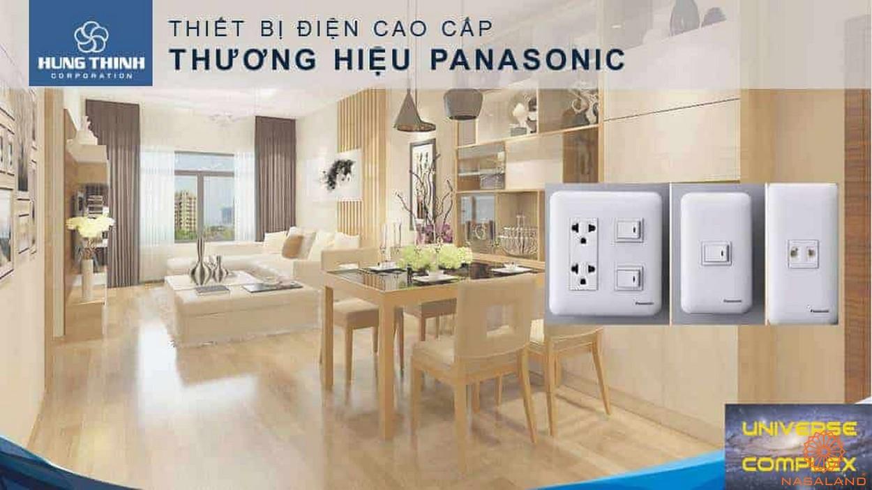 Nội thất dự án căn hộ Universe Complex Bình Tân - Thiết bị điện
