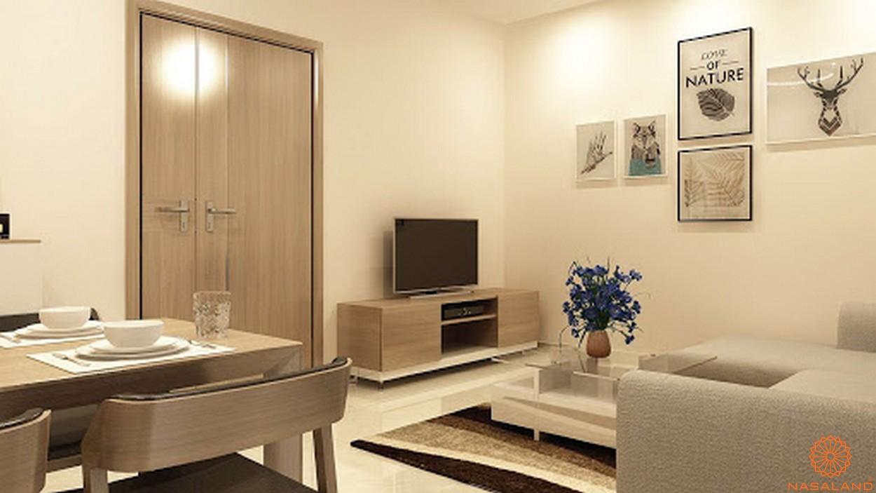 Nội thất dự án căn hộ High Intela