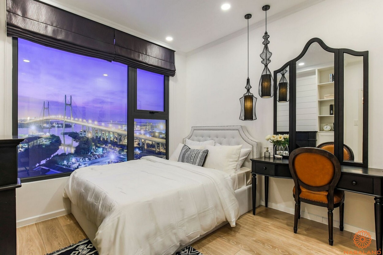 Nỗi thất phòng ngủ dự án căn hộ South Gate Tower quận 7