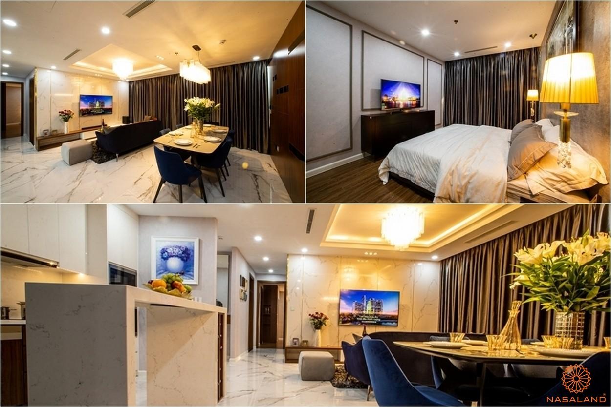 Nội thất các phòng tại dự án căn hộ Sunshine City Sài Gòn