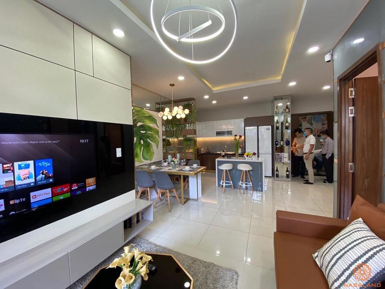 Nội thất dự án căn hộ Phú Đông Sky Garden Bình Dương - Phòng khách