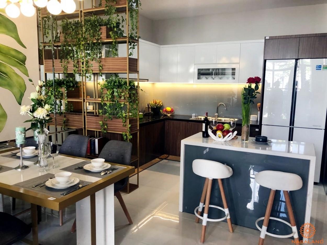 Nội thất dự án căn hộ Phú Đông Sky Garden Bình Dương - Gian bếp
