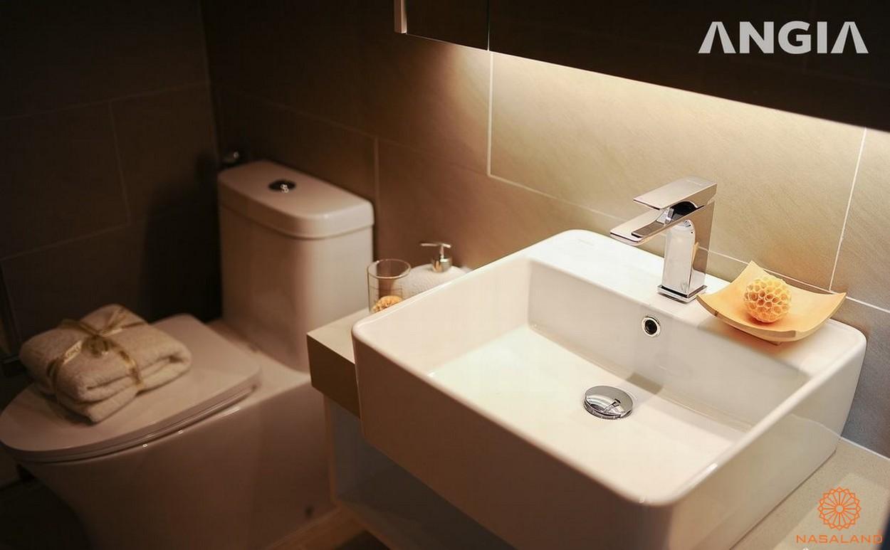 Nội thất dự án căn hộ West Gate Bình Chánh phòng vệ sinh
