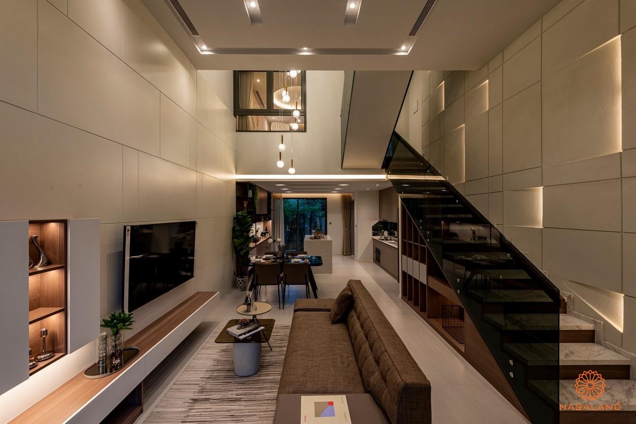 Nội thất phòng khách tại dự án
