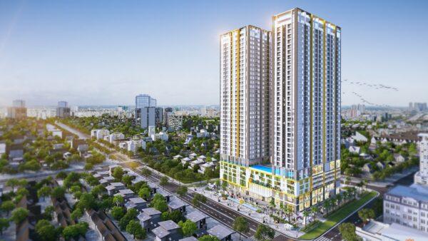 Phối cảnh dự án căn hộ Phú Đông Premier Bình Dương tổng thể